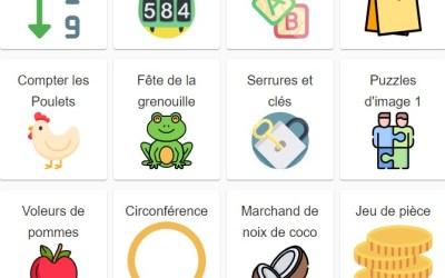 SAMI Maths Club App – New Problems in French