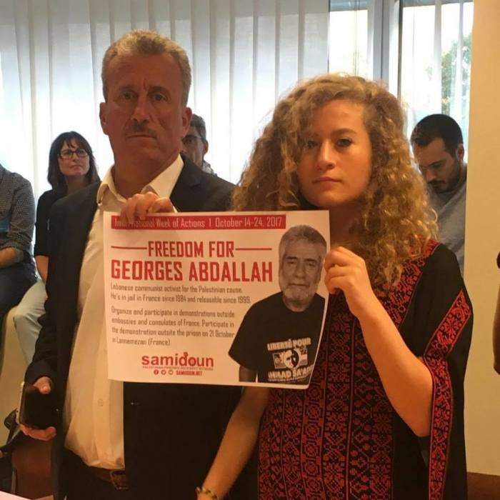 Bassem Tamimi to his daughter Ahed on her birthday:
