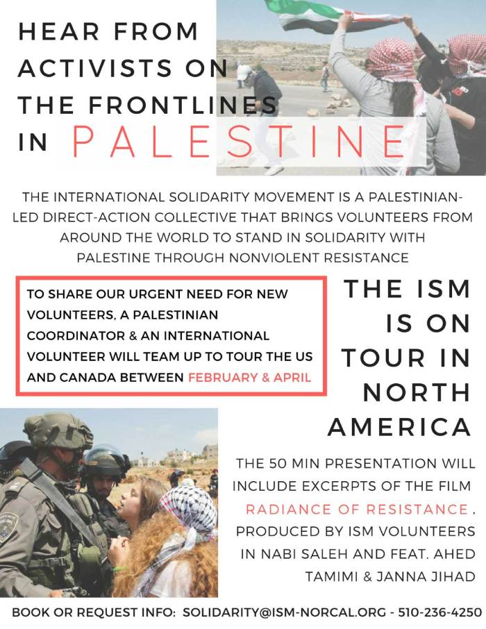 94f364f9f5a Samidoun US coordinator on speaking tour with ISM activists from ...