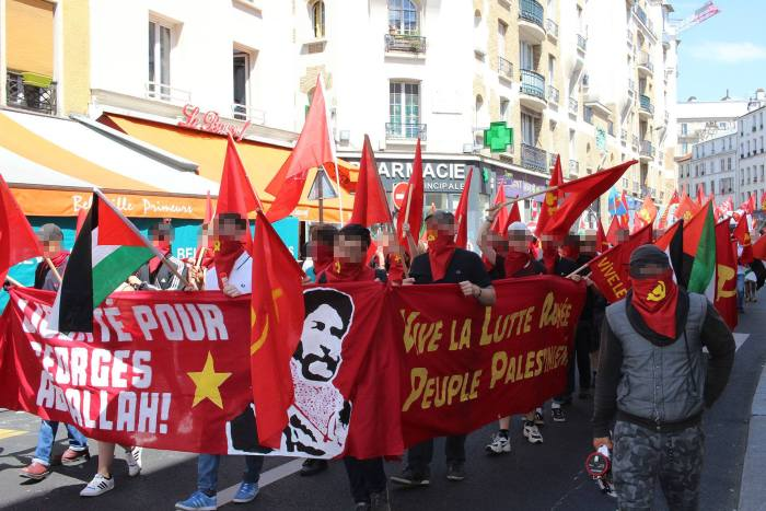 Hundreds march in Paris to free Georges Ibrahim Abdallah