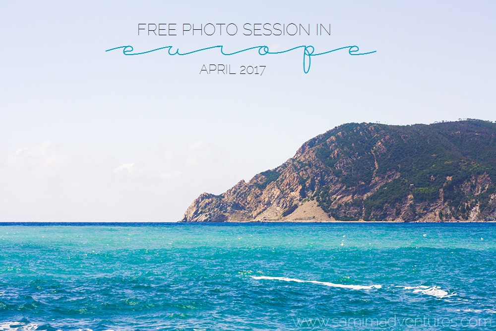 Free photo session in Europe April 2017!