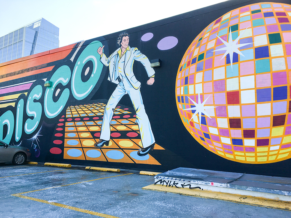 SamiM Adventures Atlanta Mural March #ATLMuralMarch Atlanta Disco Kroger