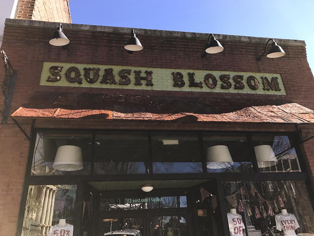 SamiM Adventures Decatur, where it's greater! Squash Blossom boutique