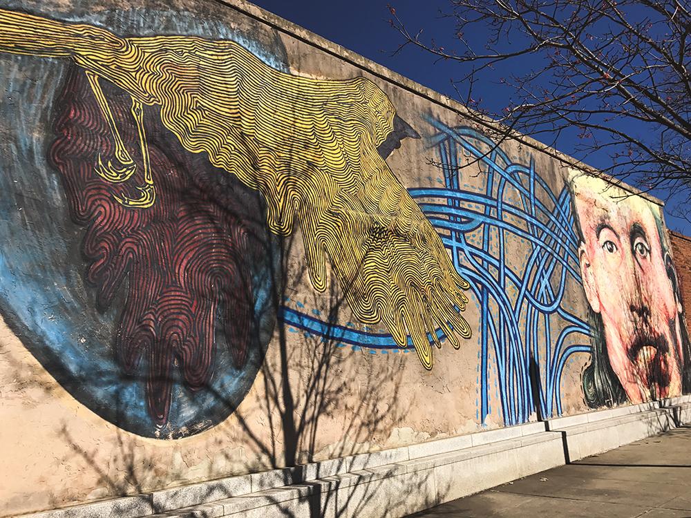 SamiM Adventures Decatur, where it's greater! Decatur Square Art #ATLMuralMarch