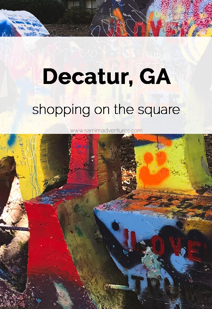 SamiM Adventures Decatur, where it's greater! Decatur Square Art