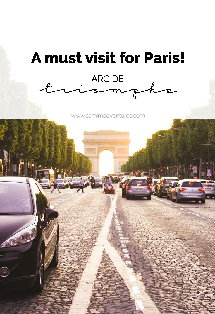Where I'd Rather be Wednesday SamiM Adventures Arc de Triomphe Paris France