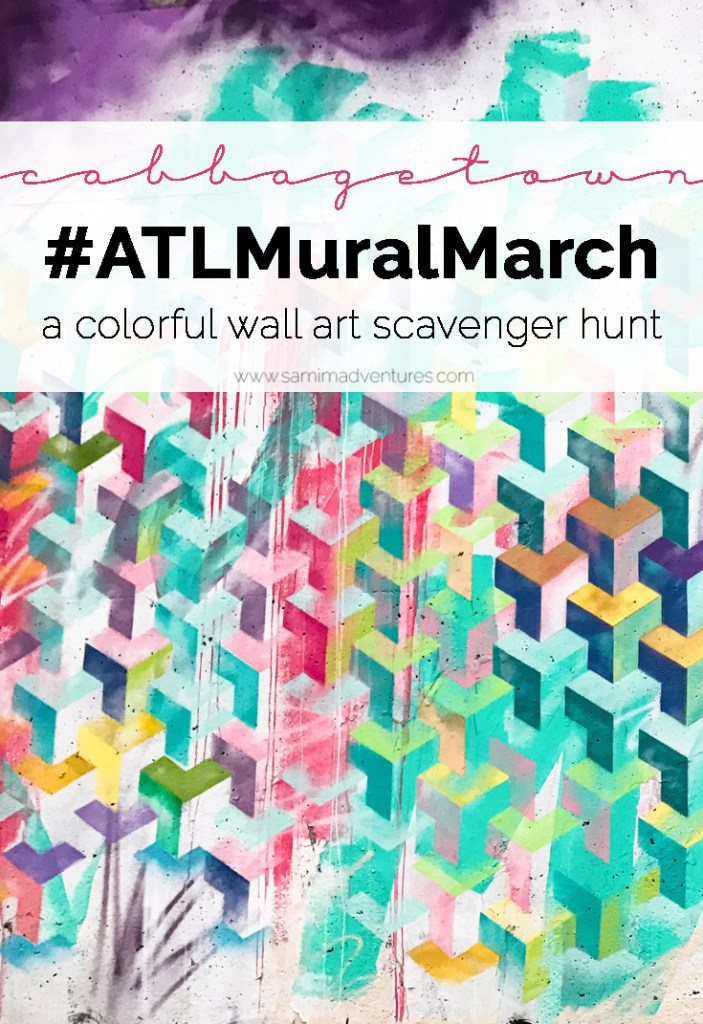 Have you ever been to Atlanta, Georgia and wanted to find things to do in Atlanta with kids? How about trekking around and looking at the BEST Atlanta street art? Check out this Atlanta travel guide! Murals and murals galore! #Atlanta #AtlantaGeorgia #AtlantaTravel  A truly colorful and fun scavenger hunt type adventure: finding the coolest mural art that Atlanta has to offer - an #ATLMuralMarch.