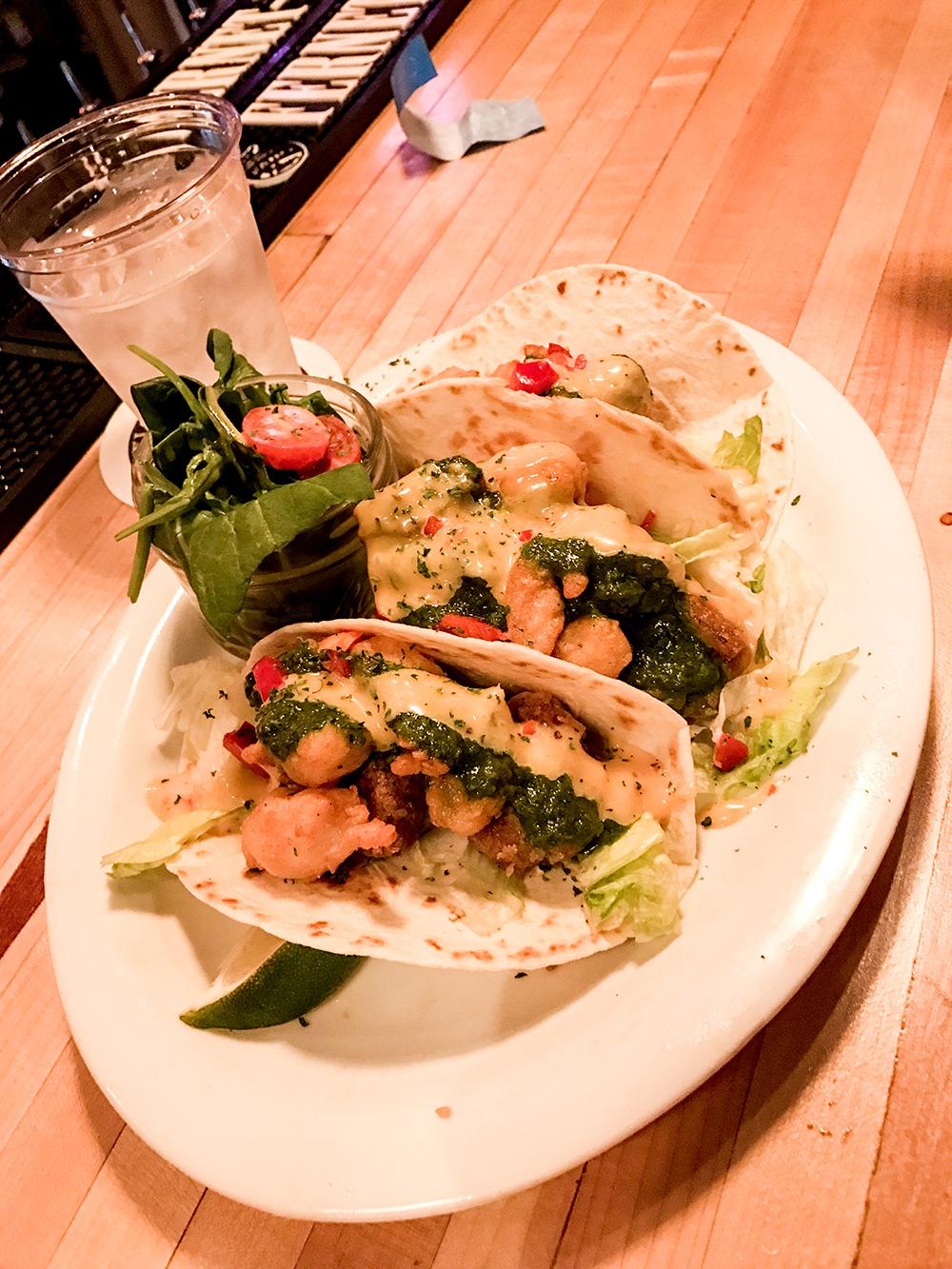 SamiM Adventures Savannah Eats The Treylor Park Shrimp and Grit Tacos