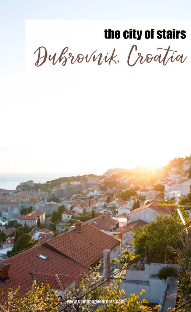 The city of stairs and Games of Thrones // Dubrovnik, Croatia