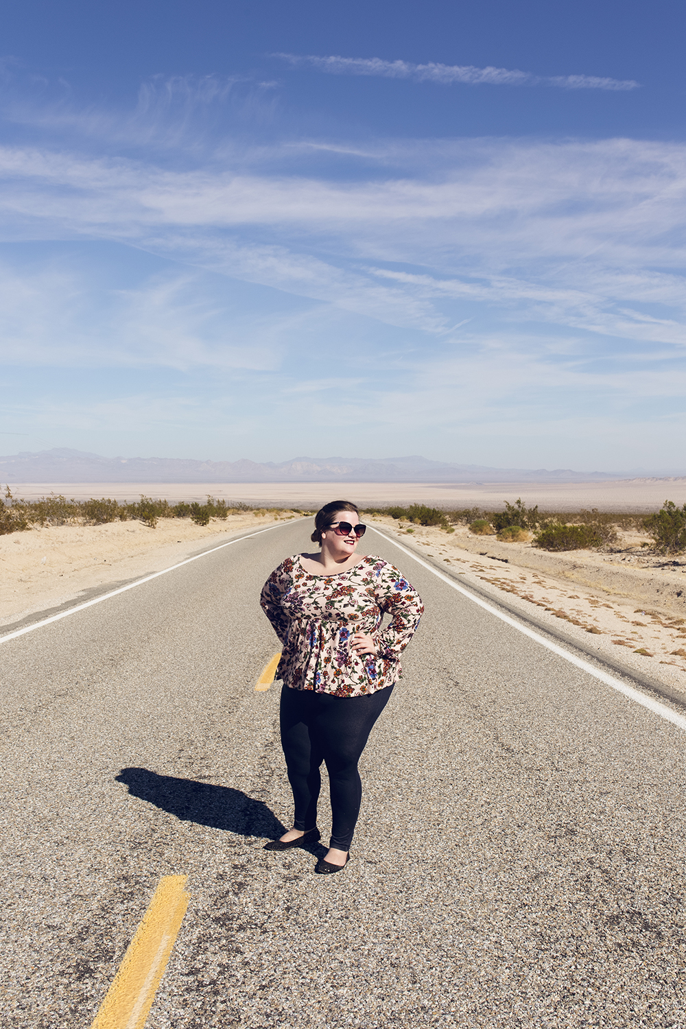 My long trek through Mojave Desert Preserve, California