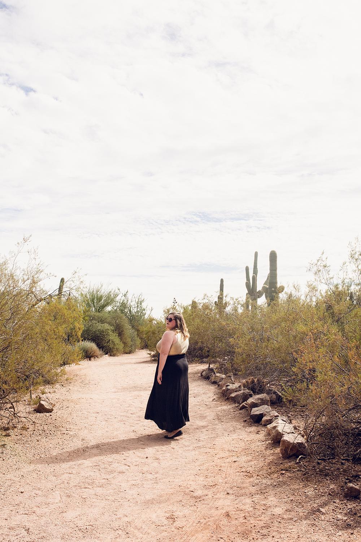 Visiting the Desert Botanical Garden in Phoenix, Arizona!
