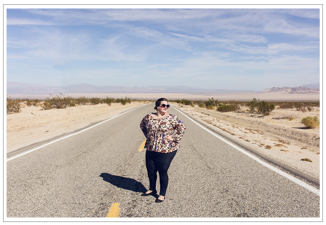 That time I used the bathroom on the side of the road in the Mojave Desert Preserve, California