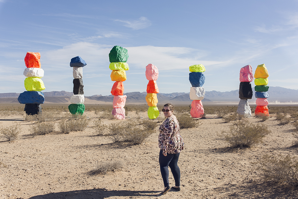 Magic in the Desert at Seven Magic Mountains