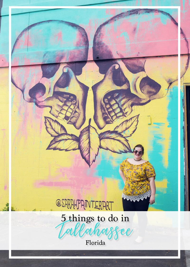 Have you ever been to Tallahassee, Florida and wanted to find things to do in Tallahassee with kids? How about trekking around and looking at the BEST Tallahassee street art? Check out this Tallahassee travel guide that has 5 things to do in Tallahassee, Florida! #Tallahassee #TallahasseeFlorida #TallahasseeTravel