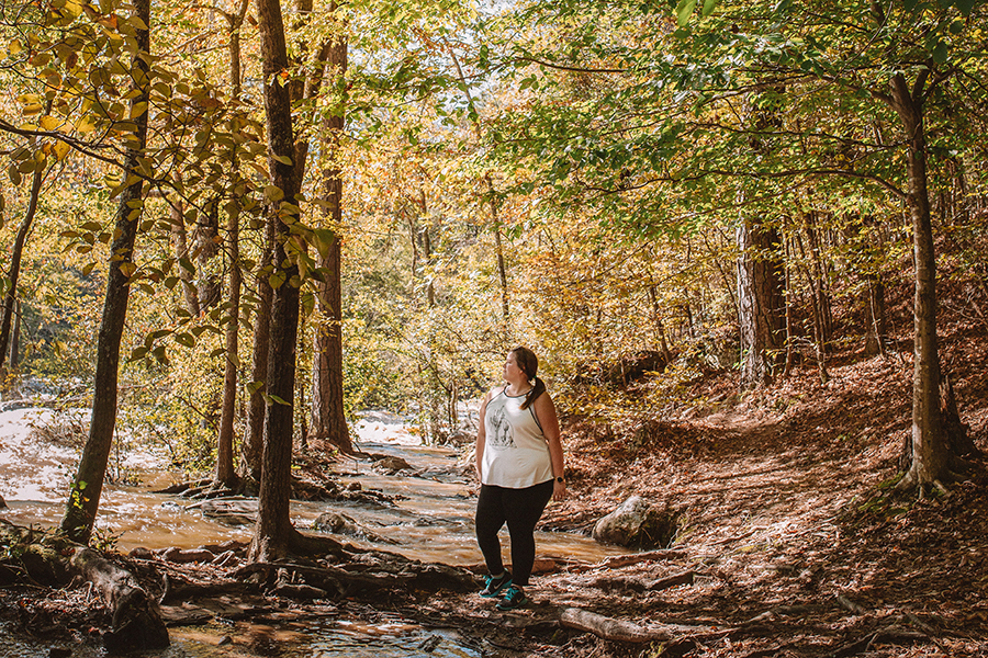 A weekend getaway at Sweetwater Creek State Park