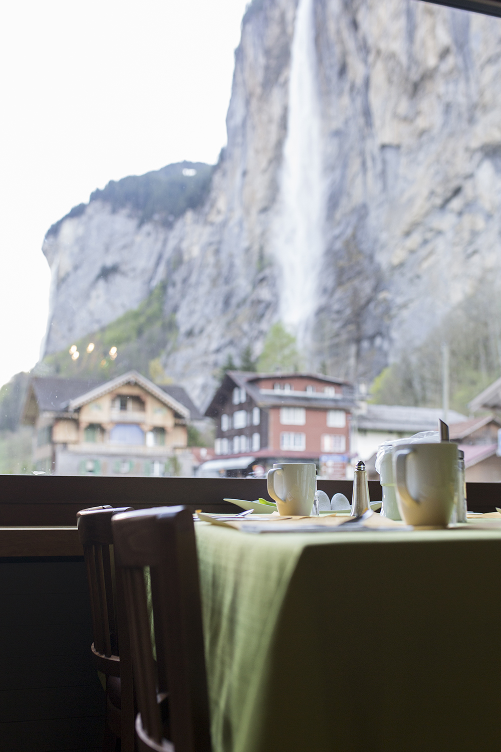 Exploring this beautiful town with snow-capped mountains, high cliffs, and 72 waterfalls and the most intimate stay at Hotel Staubbach in Lauterbrunnen, Switzerland!