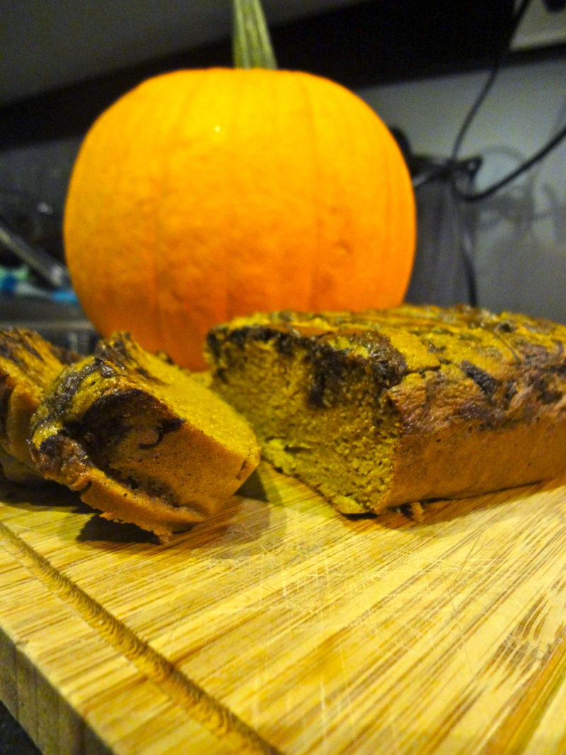 Chocolate Swirl Pumpkin Bread