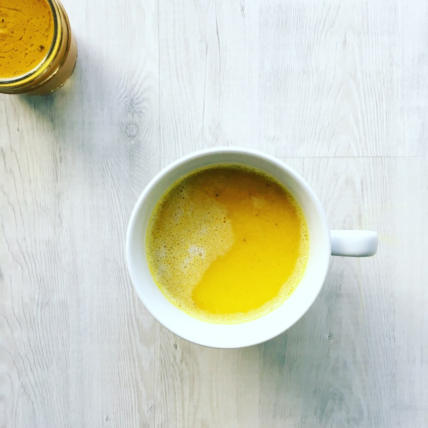 Golden Tumeric Latte…learn why it is the newest and exciting drink!