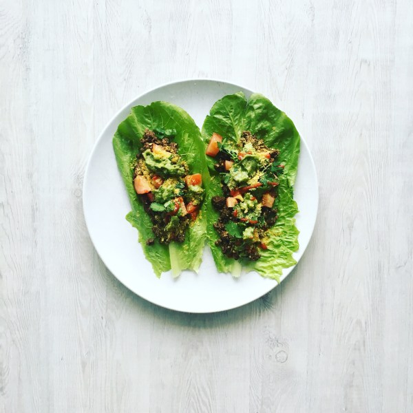 Quick and Easy Lettuce Tacos