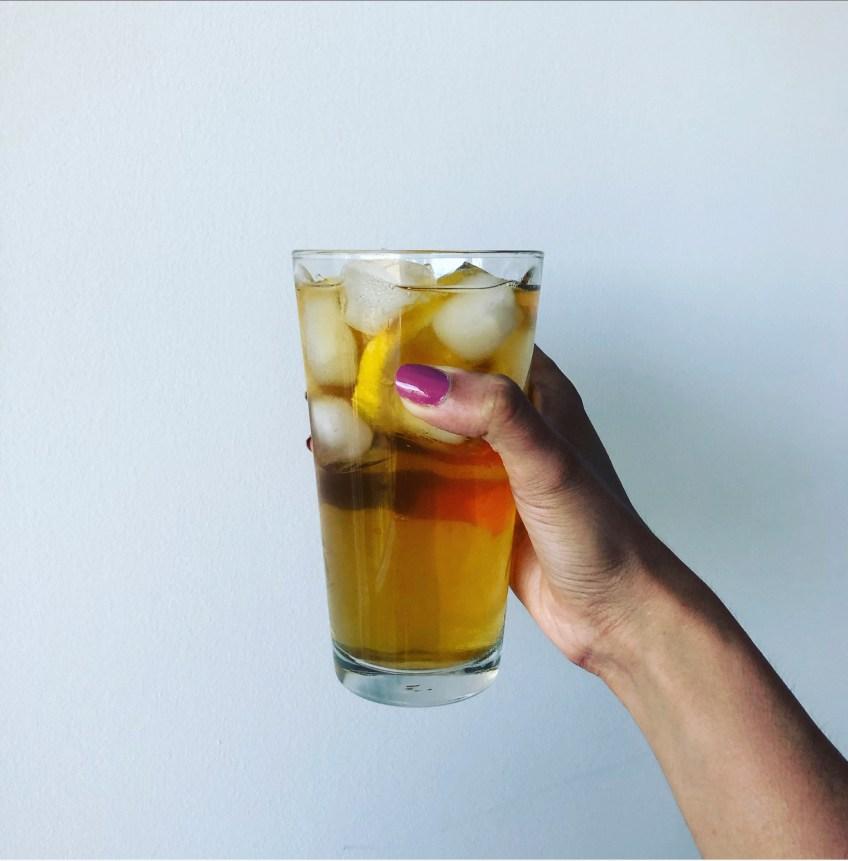 Iced Spearmint Tea