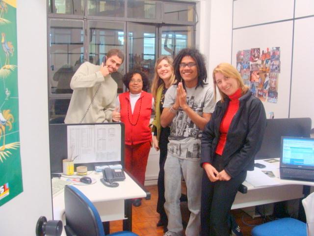 Argonautas faz visita ao Pontão Cultura e Convivência de Paz