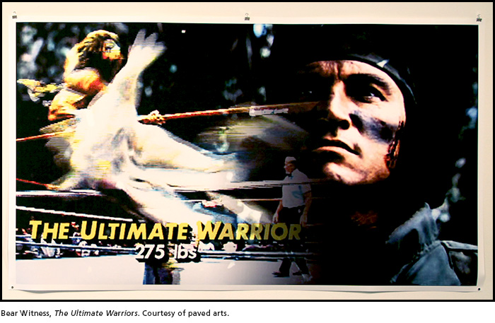 Bear Witness, The Ultimate Warriors. Courtesy of paved arts.