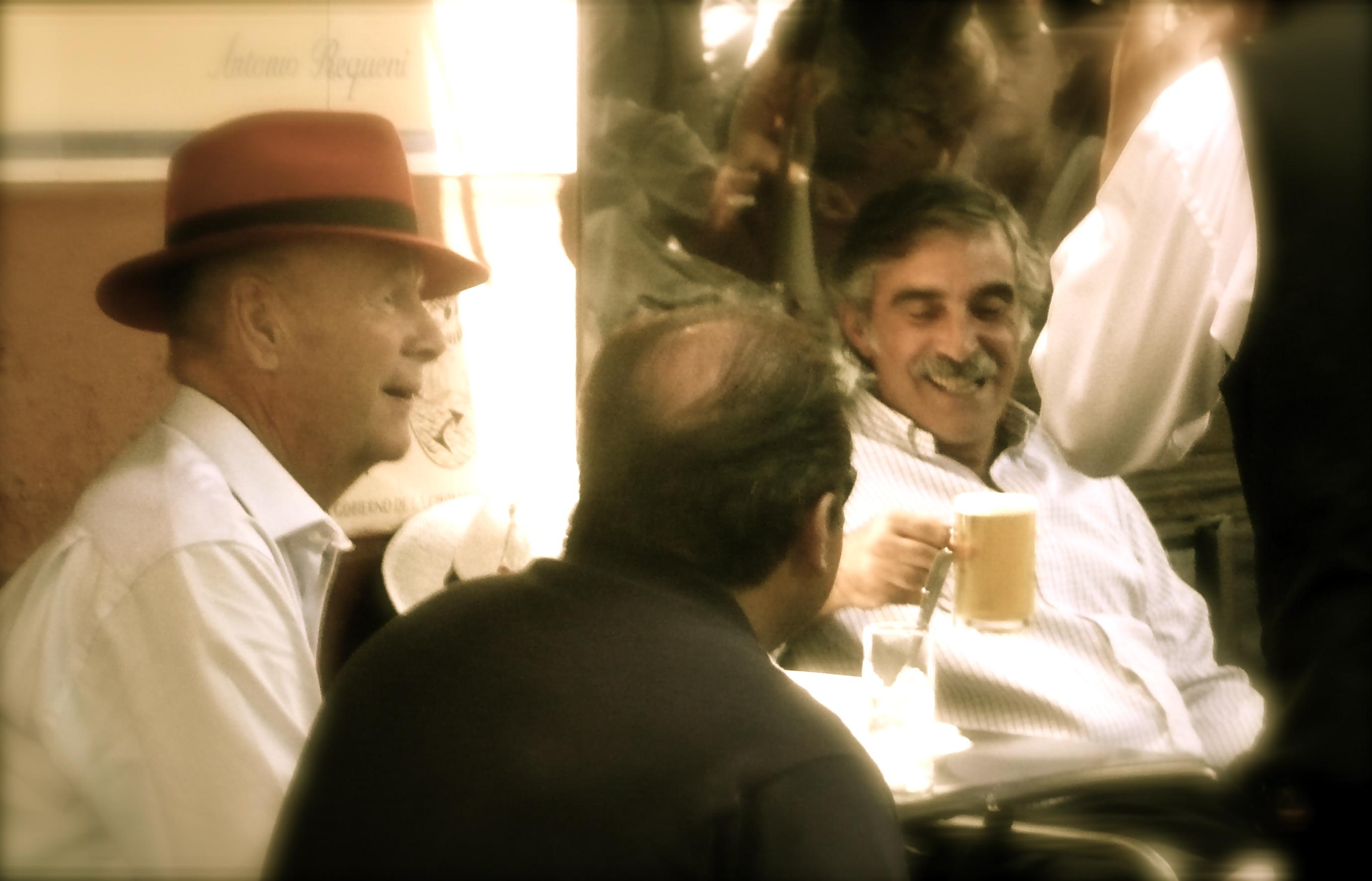 At a café, Defensa, San Telmo