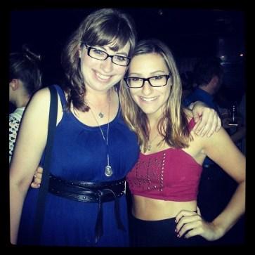 Nerd Queen and me at Nerd Noise Night!