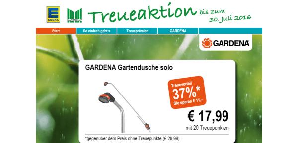 EDEKA Gardena Treueaktion