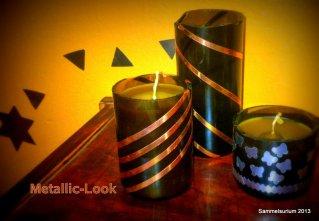 Kupfer-Kerzen