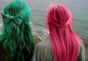 pink or green green or pink