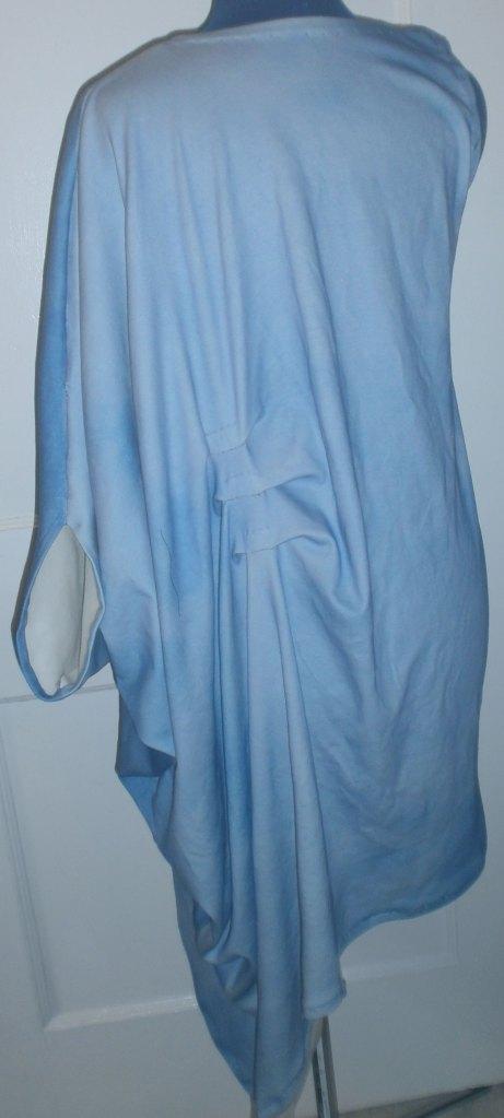 """""""Aqua"""" Inspired Garment Back"""