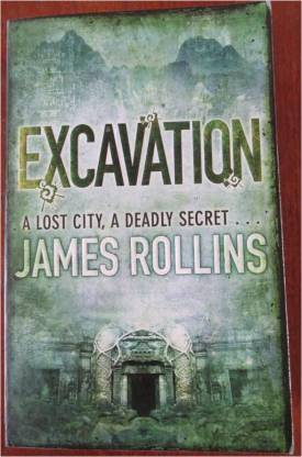 excavation by james rollins front cover
