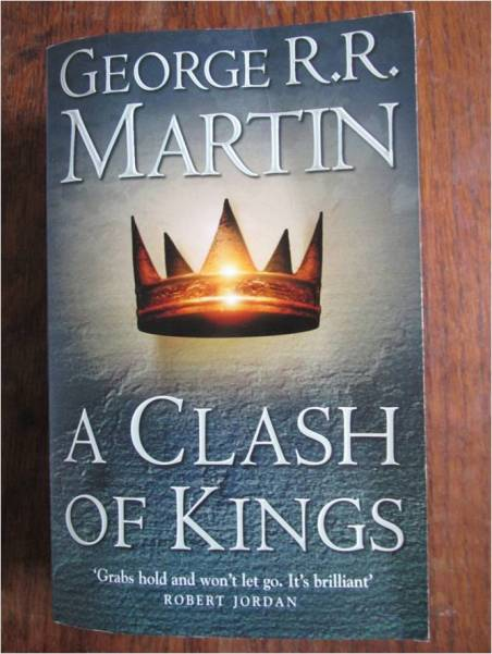 a clash of kings front cover