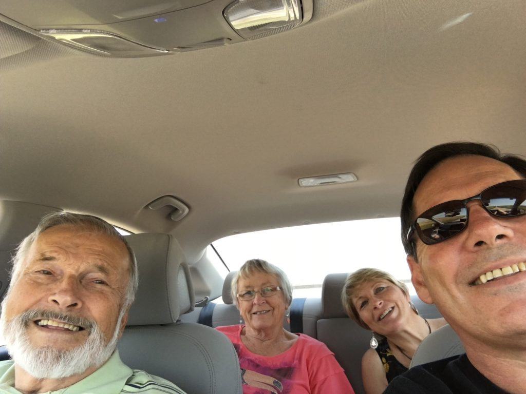 On the road with these special people!