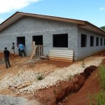 New multi-purpose bulding of Mount Horeb Training Centre at Cacador