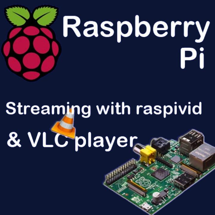 Raspberry Pi Camera Streaming to VLC Player - SAMMIT