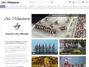 Art Miniaturen – Zinnfiguren Online-Shop