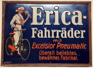 ERICA Fahrräder mit Excelsior Pneumatic - Union Radebeul