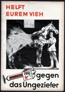 ShellTOX Werbeprospekt: Ob's dem Pferd wohl gut tat?