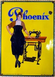 PHOENIX - Nähmaschinen - um 1925