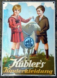 Kübler's gestrickte Kinderbekleidung, 20er
