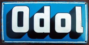 ODOL - Schriftschild um 1910