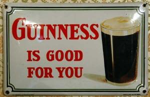 GUINNESS - Belgien 1934 - 'Guinness is good for you'