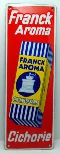 FRANCK Aroma Chicorie (roter Hintergurnd), Schweiz, 30er Jahre