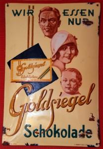 Goldsiegel Schokolade, CRD um 1930