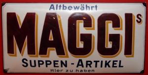 MAGGI'S Suppen-Artikel, 100 x 50 cm