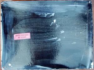 Die Rückseite noch mit Etikett