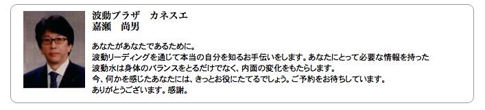 嘉瀬氏オペレーター