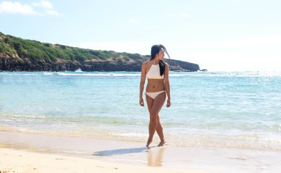 Trending: Halter Swimsuits    Hanauma Bay   Hawaii Look Book